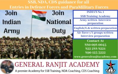 Air Force Training and X-Y Group Interview Preparation at General Ranjit Academy