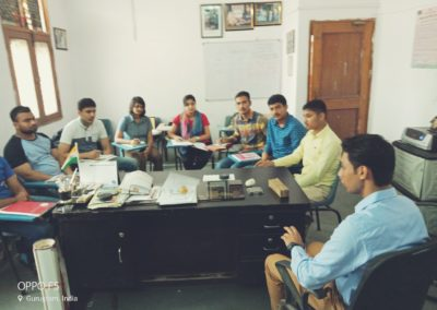 Current affairs taking place in General Ranjit academy