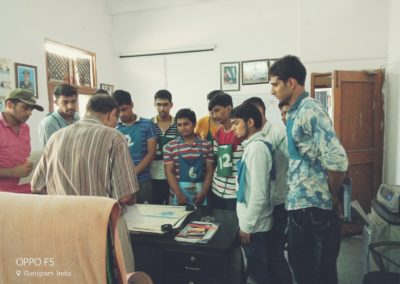 Group planning is being done in General Ranjit academy